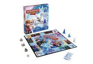 Moins de 15€ le jeu Monopoly Junior Reine Des Neiges