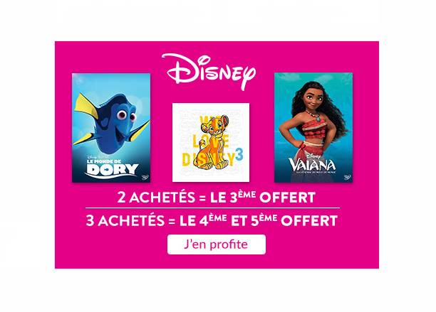 Offre Video Disney Cultura