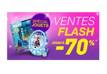 Vente flash jouets Auchan