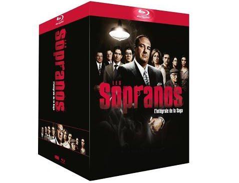 coffret serie Soprano integral en Blu-ray