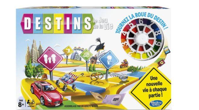 jeu Destins – le jeu de la vie