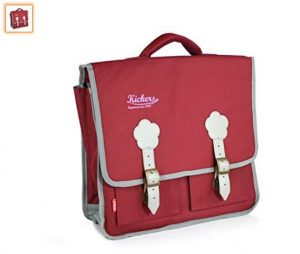 17,5€ le cartable Kickers 15l framboise & gris