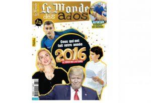 Abonnement Le Monde des Ados pas cher