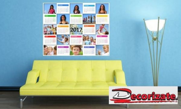 Bon d'achat Decorizate calendrier mural repositionnable