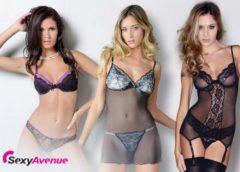 Sexy Avenue : 15,2 euros les 50 euros d'achats lingerie sexy…
