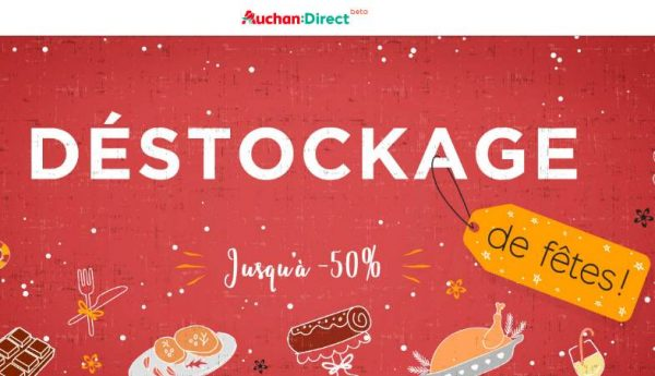 Déstockage de Noel Auchan Direct
