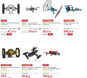 Drones Parrot à -70%