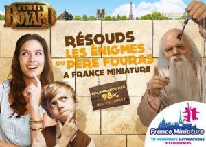 Fort Boyard à France Miniature billet pas cher