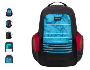 Moins de 15€ le sac à dos Quiksilver Schoolie
