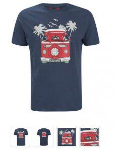 Moins de 6€ le T-shirt Salvage homme