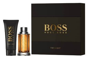 SOLDES coffret Hugo Boss The Scent 50 ml + gel douche 100ml
