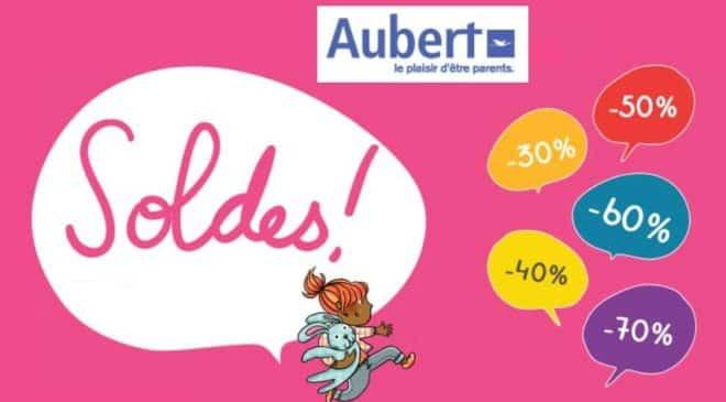 Soldes Aubert nouvelle démarque