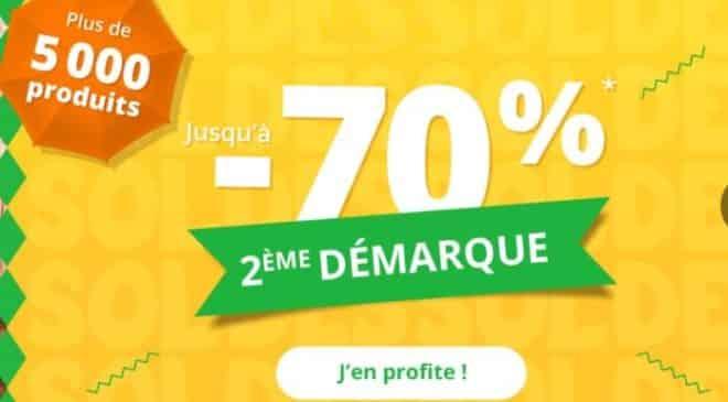 Soldes Auchan 2017 deuxième démarque