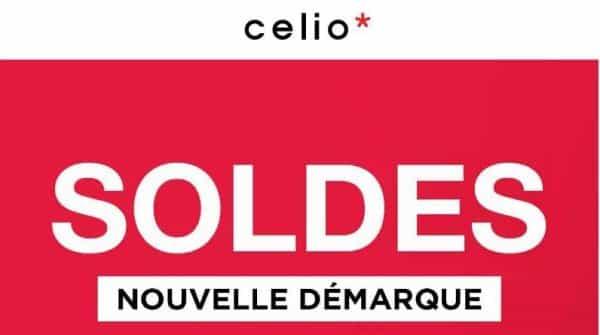 Soldes Celio nouvelle démarque
