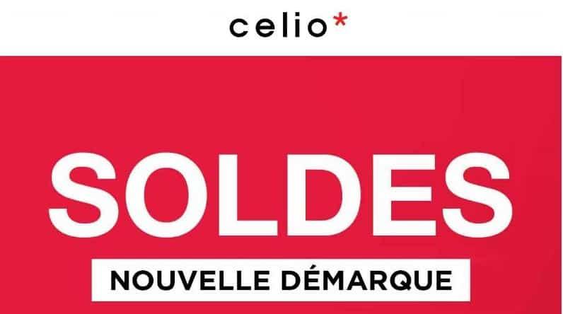 Soldes celio la deuxi me d marque est en ligne jusqu 60 - Soldes deuxieme demarque ...