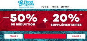 Soldes Planet Sports