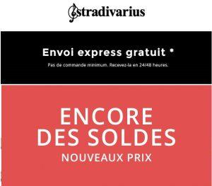 Soldes Stradivarius livraison rapide gratuite