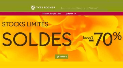 Soldes Yves Rocher