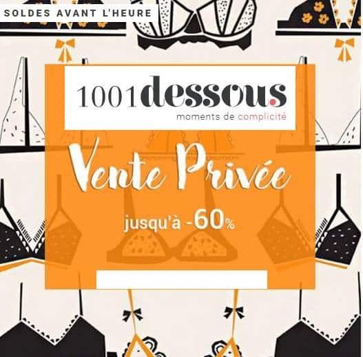 Vente privée 1001dessous