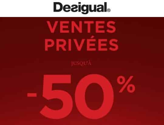 Vente privée Desigual