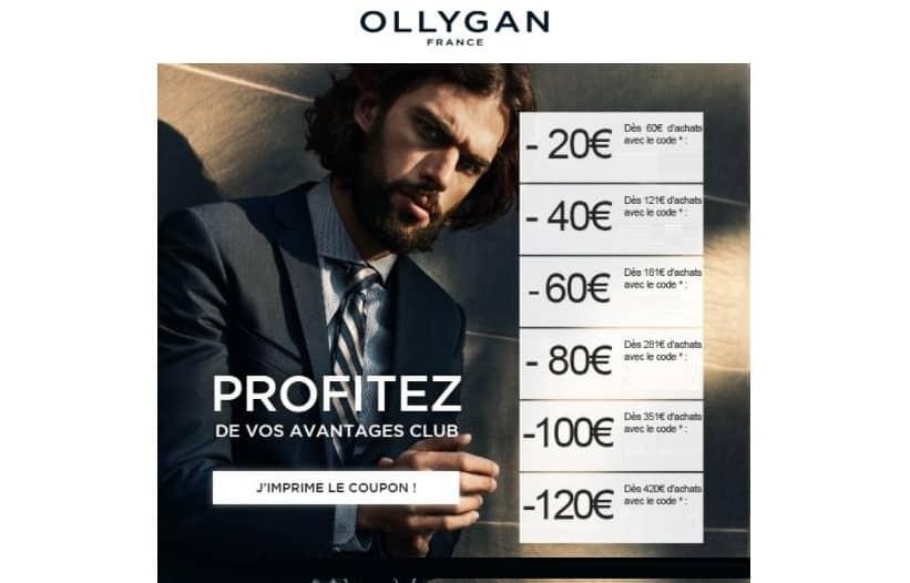 Vente privée Olly Gan : de 20€ à 120€ de remise pour les pré-soldes