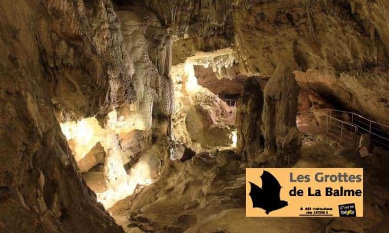 Visite des Grottes de La Balme moitié prix