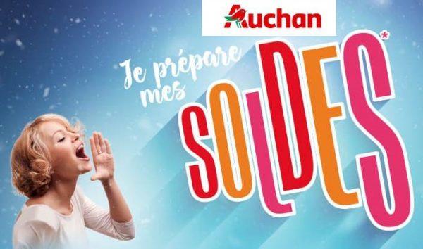Voir les articles en soldes d'hiver chez Auchan