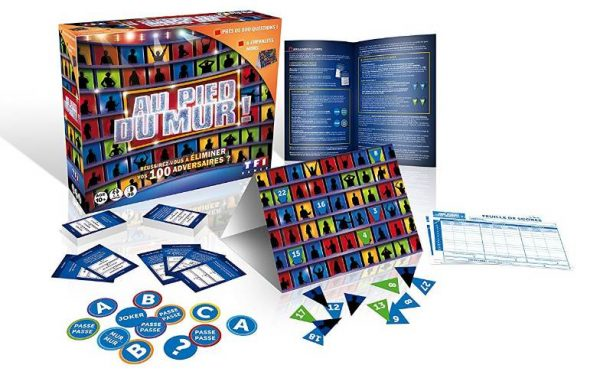 jeu Au Pied du Mur de TF1 Games / Dujardin en soldes
