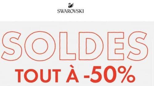 soldes Swarovski sont à moitié prix