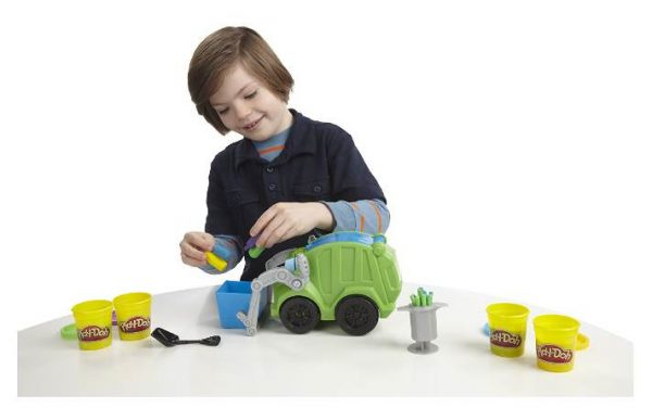 super camion poubelle Play-Doh en soldes