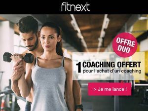 1 coaching Fitnext acheté = second gratuit