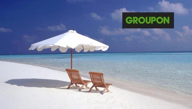 5% de remises sur les deals voyages GROUPON