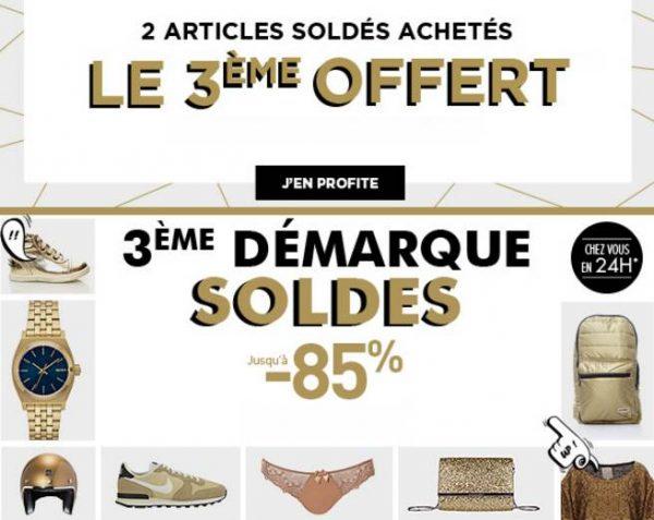 Brandalley 20 offerts d s 100 50 d s 200 ou 100 - Soldes troisieme demarque ...