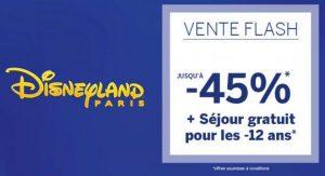 45% sur les séjours Disneyland