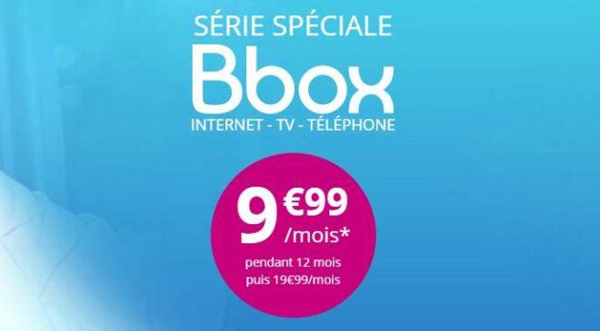 9,99€/mois la Bbox de Bouygues