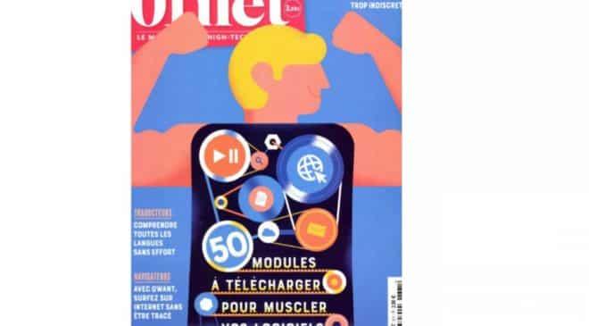 Abonnement Magazine 01Net pas cher : 17€ au lieu de 42,90€ (11 N°)