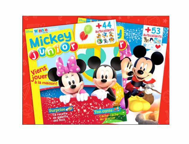 Abonnement Mickey Junior pas cher