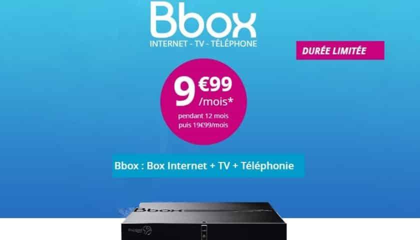 Bbox de Bouygues 9,99€