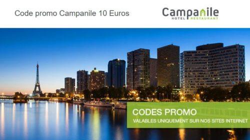 Code promo Campanile