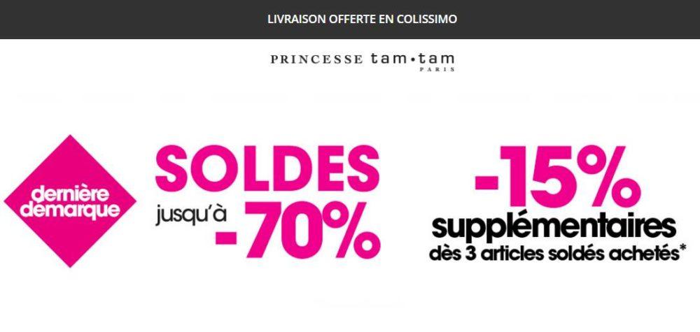 Dernier jour soldes princesse tam tam de 50 70 livraison gratuite - Dernier jour de solde ...