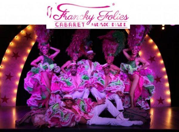 Diner-spectacle Francky Folies Cabaret moitié prix