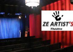 Théâtre Ze Artist's Paris pas cher : 49,90€ le spectacle + repas pour 2 personnes