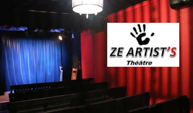 Dîner-spectacle Théâtre Ze Artist's - KD Village Restaurant