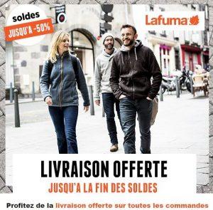Fin des soldes Lafuma : jusqu'à -50% + livraison gratuite sans mini