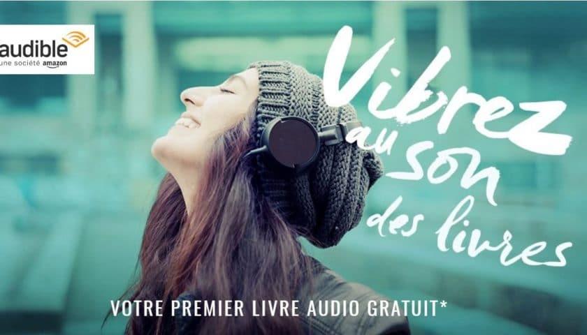 Livre audio gratuit sur Audible