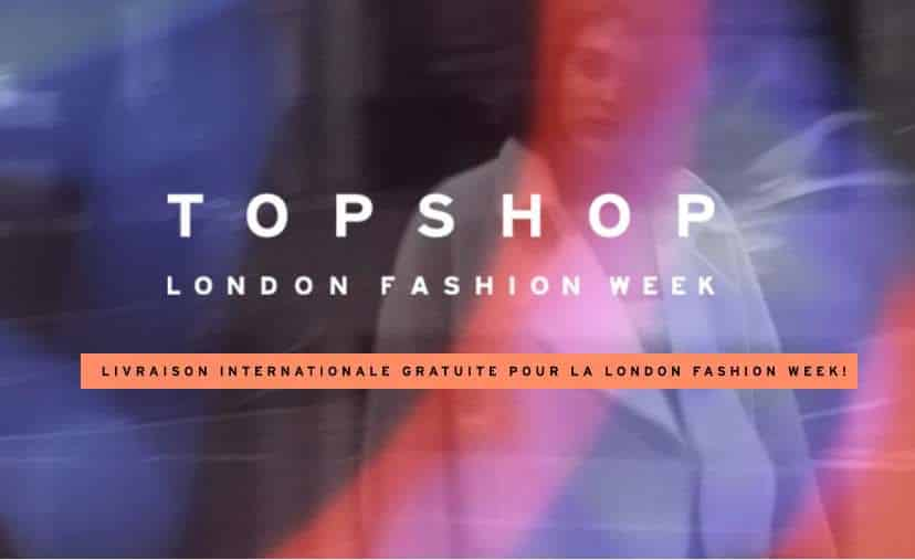 London Fashion Week Topshop