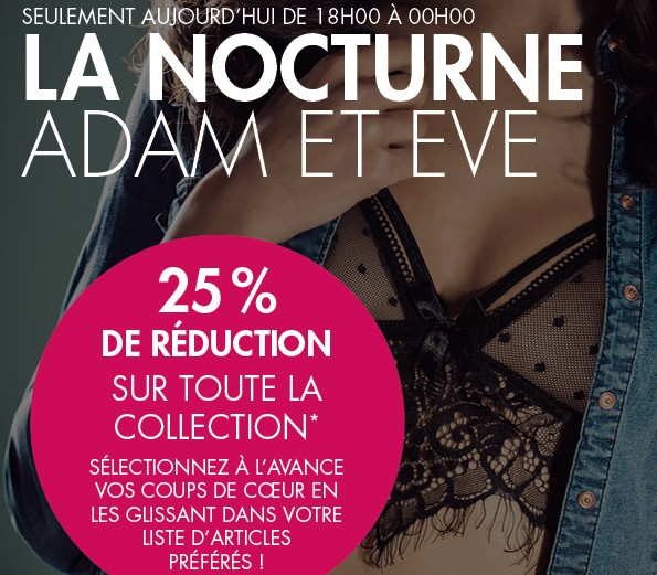 Coupons reduction adam et eve