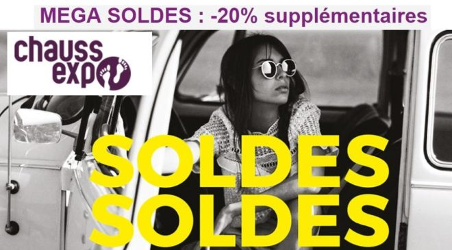 Remise supplementaire soldes ChaussExpo