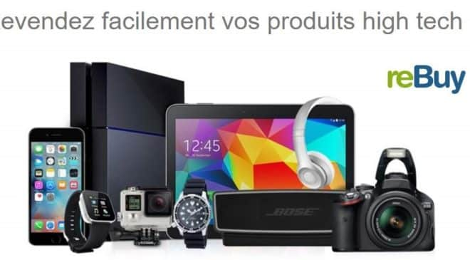 Revendez en ligne votre high-tech