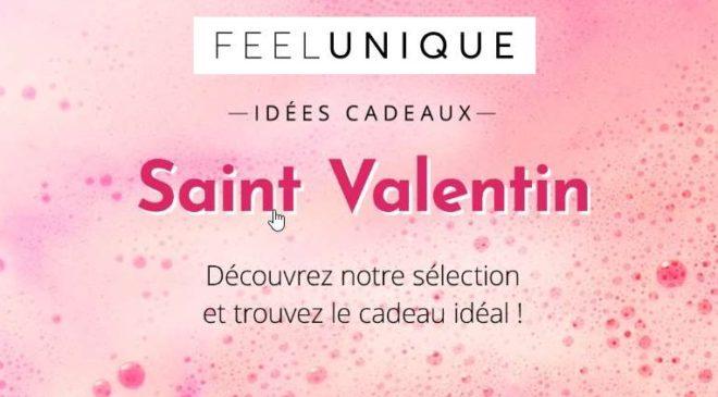 Saint Valentin -25% sur les parfums sur Feel Unique
